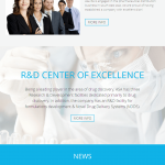 Pharmaceutical Company Website Design and Development